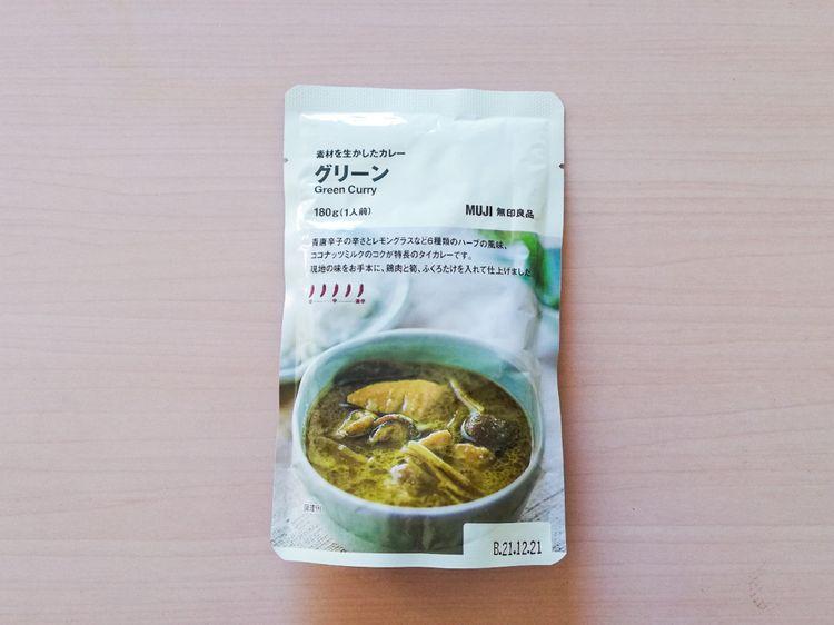 แกงเขียวหวาน มูจิ