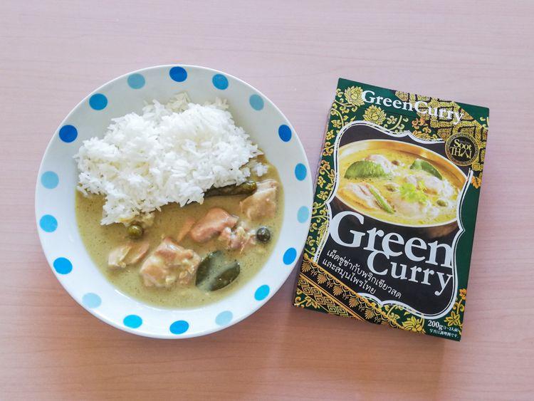 แกงเขียวหวาน สูตรไทย