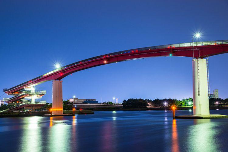 Cây cầu Nakanoshima Ohashi