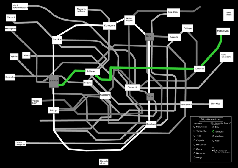 Best Tokyo Subway Map.Visiting Tokyo Get Familiar With The Toei Subway Lines Tsunagu Japan