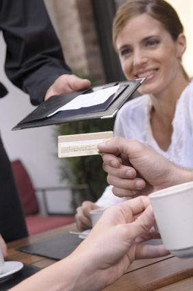 Paying a bill