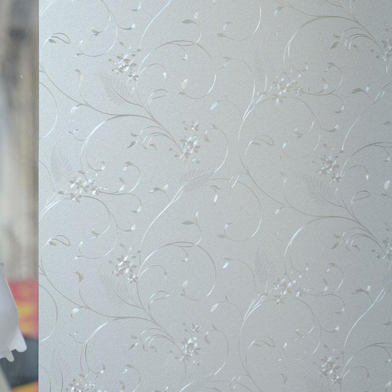 Static-plastic-scrub-bathroom-glass-film-window-stickers-sliding-door-translucidus-transparent-window-grilles-household