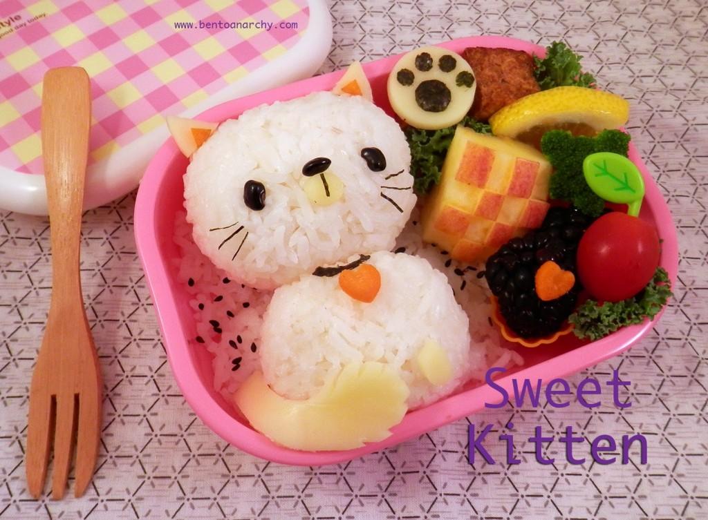 Sweet Kitten bento