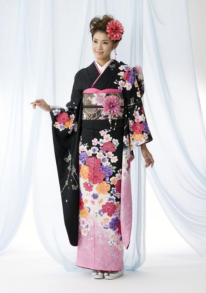 Kimonos, Japanese kimono and Traditional on Pinterest