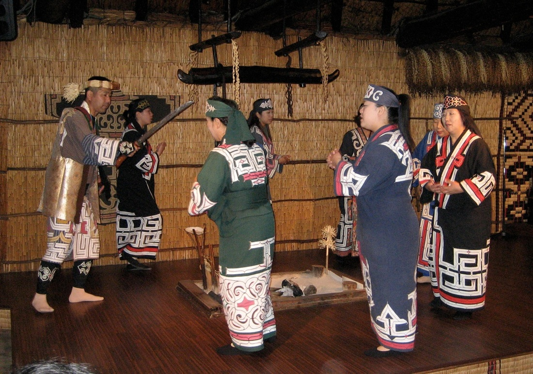 Traditional Ainu dance