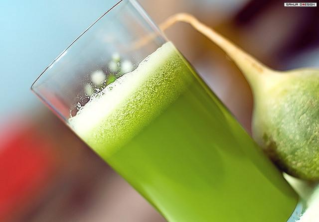 4. Green Aojiru Juice