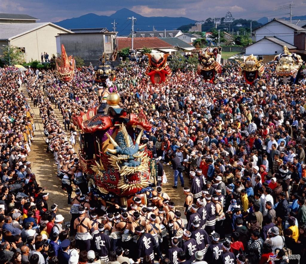 8. Nagasaki Kunchi Festival