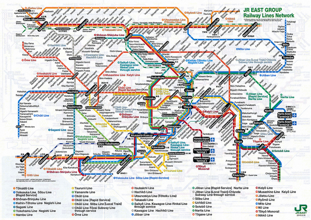 Best Tokyo Subway Map.The Perfect Guide To Traveling By Train In Japan Tsunagu Japan