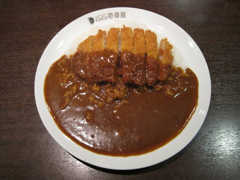 6. Japanese curry and Katsu-don