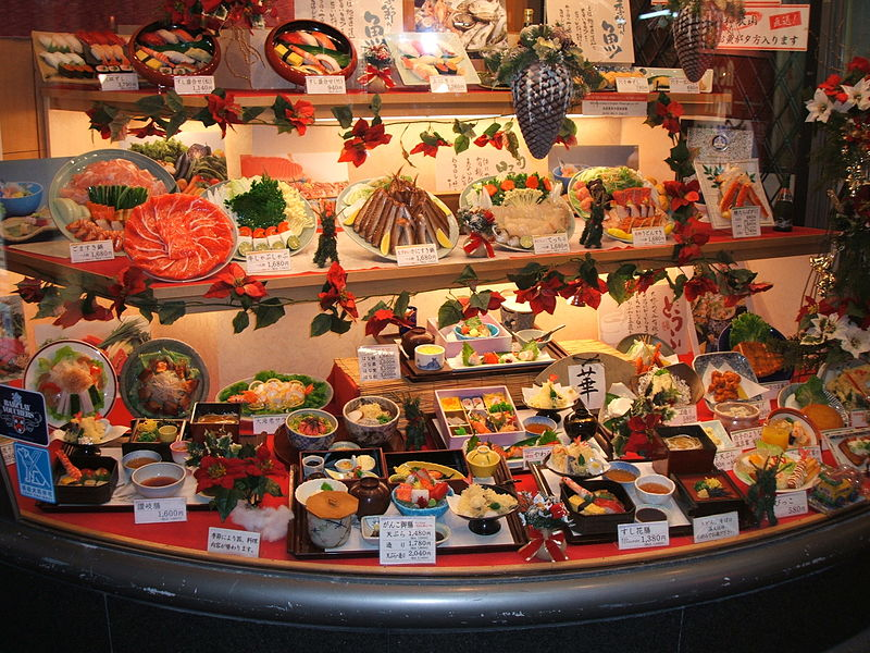 Japanese food replicas gastro friendly art that will wow for Cuisine 800 wow