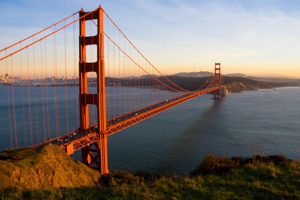3. Golden Gate Bridge