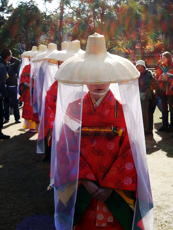 春日若宮おん祭お渡り式 2011年12月17日 晴れ