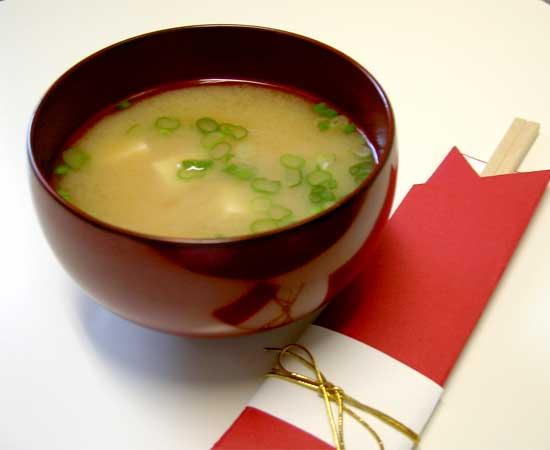 12. Miso soup