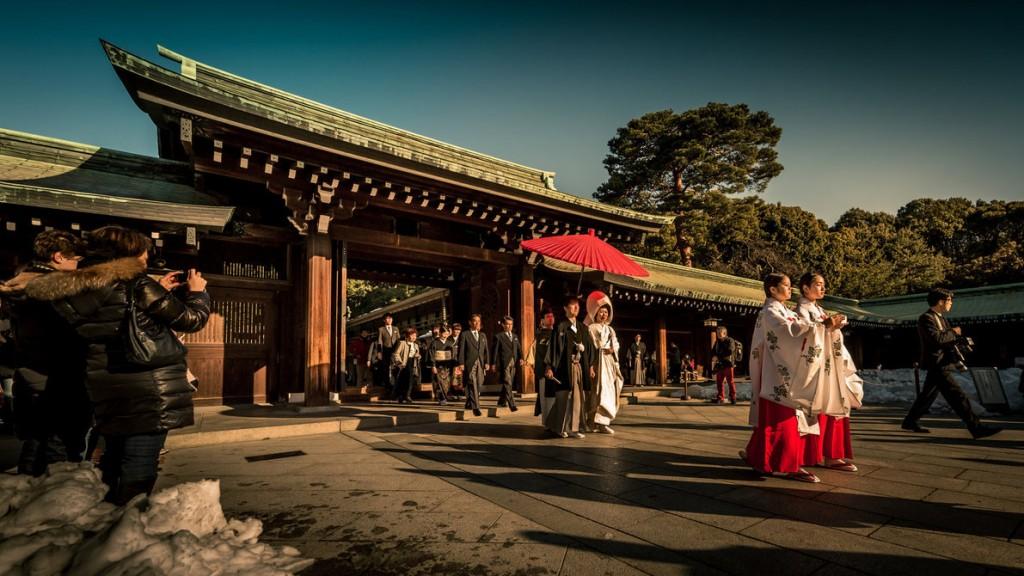 18. Meiji Shrine