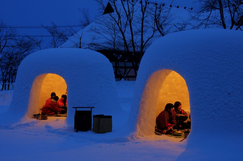 How To Build An Igloo At Home