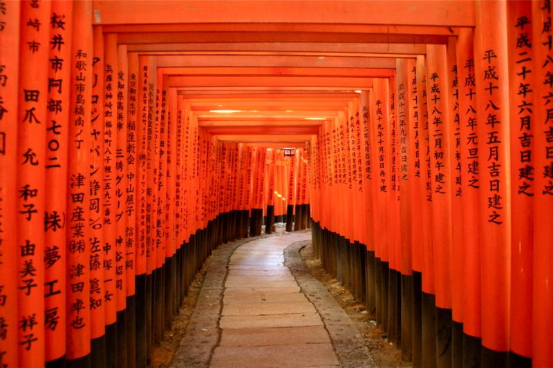 4. Fushimi Inari Shrine