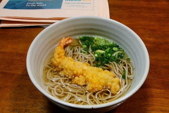 Japanese Fastfood : Tachigui Soba (Noodle Stand) | tsunagu Japan