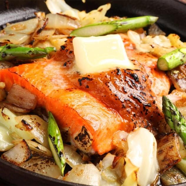 1. 鮭ちゃんちゃん焼