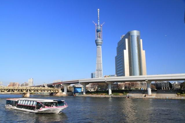 1. Tokyo Skytree Cruise