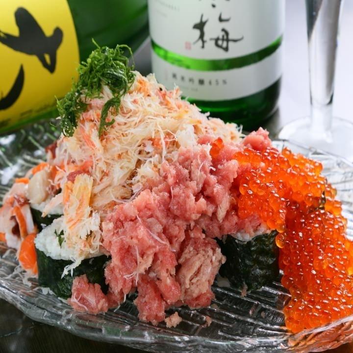 9. こぼれ寿司