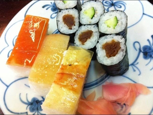 9. 箱寿司