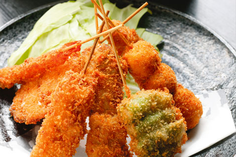 The Right Way to Eat the Famous Osaka Kushikatsu