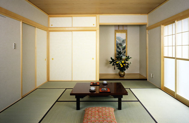 Tatami Is A Traditional Flooring Used In Japan.