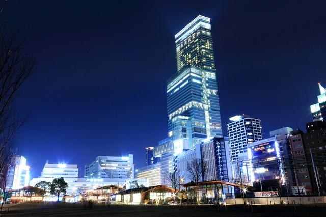 Spectacular Light Show In Osaka Harukas 300 X Osaka