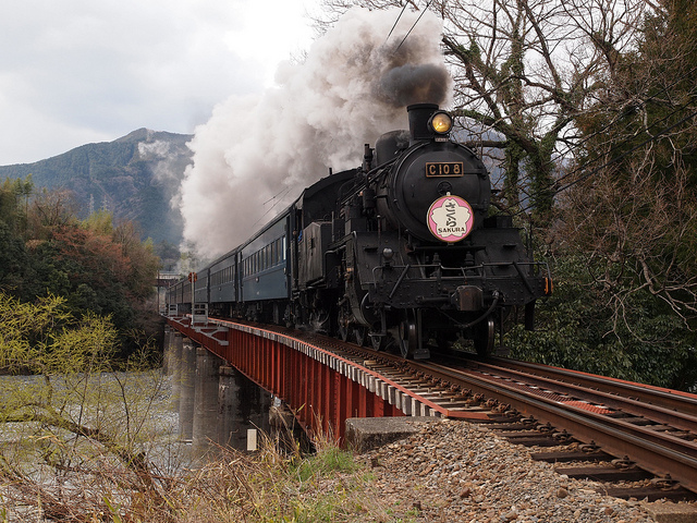 8 train lines where you can enjoy steam locomotives in japan